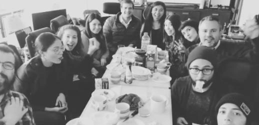 Desayuno en comunidad